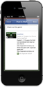 JogoCast iPhone Soccer App Facebook Post